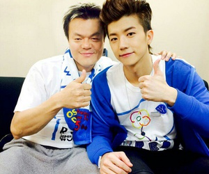 2PM, JYP, and wy image