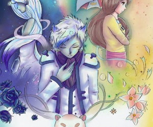 bee, space princess, and puppycat image