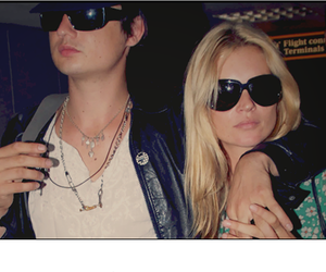 kate moss, pete doherty, and love image