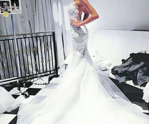 bride, dress, and model image