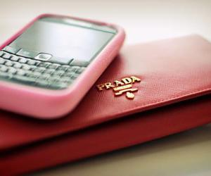 Prada, blackberry, and pink image