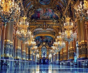 paris, france, and opera image