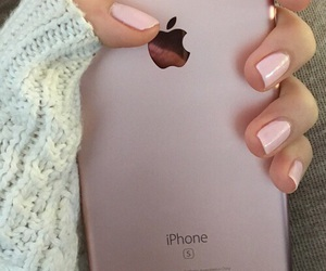 girly, iphone, and nails image