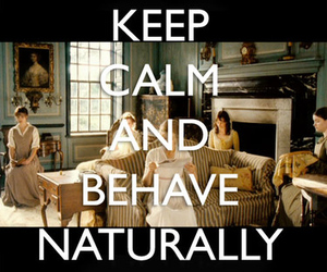 pride and prejudice and keep calm image