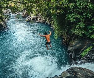 waterfall, adventure, and beautiful image