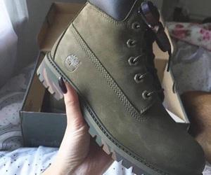boots, fashion, and timberland image