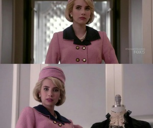 emma roberts, madison montgomery, and scream queens image