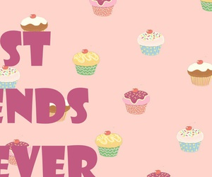 bff, cupcakes, and friends image