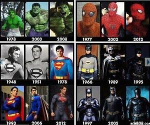 batman, spiderman, and superman image