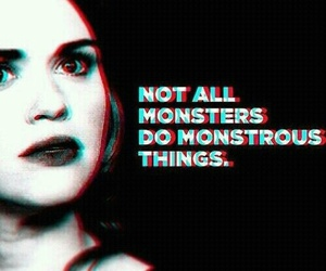 teen wolf, lydia martin, and monster image