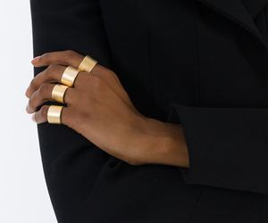 accesories, black, and gold image