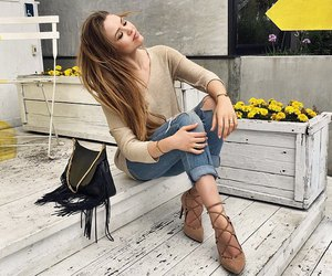 fashion, hair, and shoes image