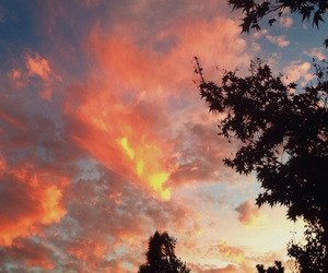 clouds, colorful, and cool image