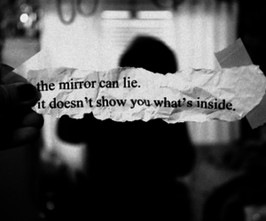 mirror, lies, and quote image