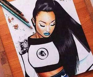 little mix, drawing, and leigh-anne image
