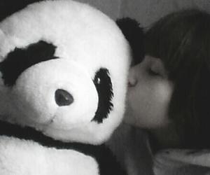 <3, panda, and pandalove image