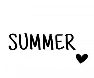 black, heart, and summer image