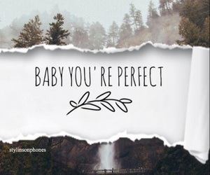 Lyrics, perfect, and one direction image