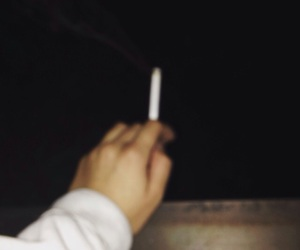 blurred, cigarette, and grunge image