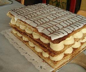 creme, desert, and dessert image