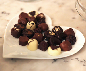 chocolate, food, and pretty image