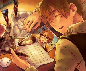 hetalia and england image