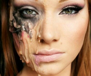 Halloween, ideas, and make up image