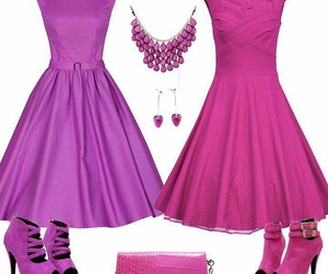 clothes, accesorios, and fucsia image