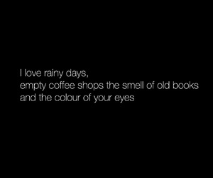 book, coffee, and eyes image