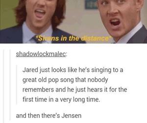 jared padalecki, Jensen Ackles, and supernatural cast image