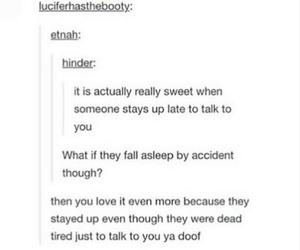 late night talks, cute, and love image