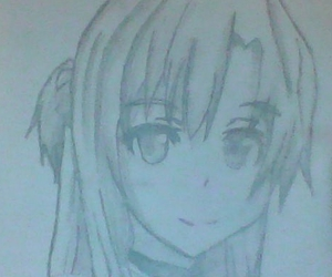 drawing, asuna, and sword art online image