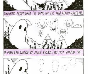 black and white, club, and comics image
