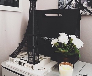 paris, flowers, and room image