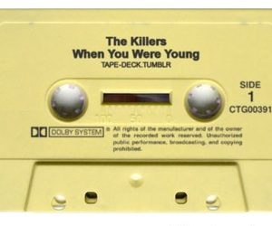 the killers and when you were young image