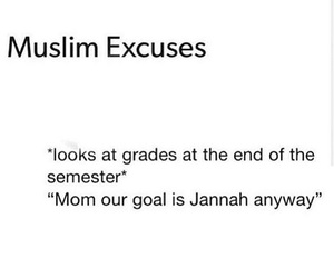 funny, grades, and islam image