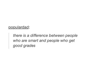 smart, grades, and quote image