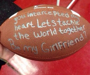 football, love, and cute image
