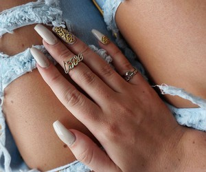 fabulous, jewels, and nails image