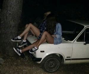 car, momentos, and dark image