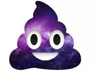 galaxy and emoji image