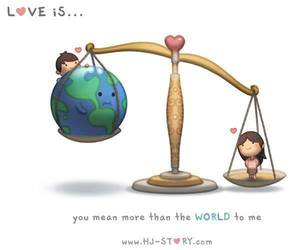 love, world, and couple image