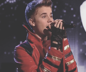 justin bieber, christmas, and bieber image