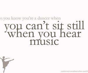 dance, ballet, and sit still image