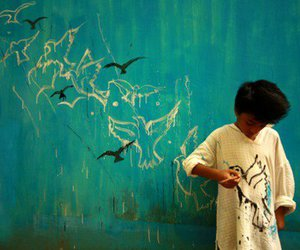 bird, blue, and indian image