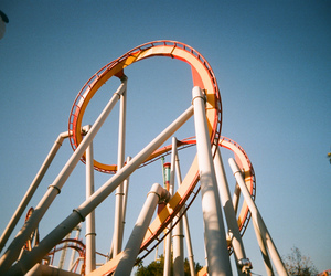 amusement park, analog, and film image