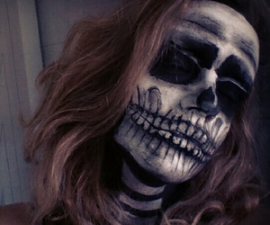 Halloween, bones, and creepy image
