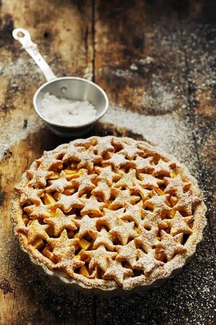 food, pie, and stars image