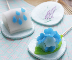 candy, hydrangea, and japanese image