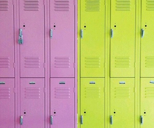 lockers and school image